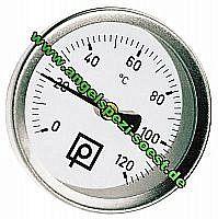 Thermometer für Räucheröfen