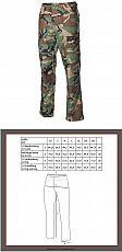 US Kampfhose BDU #Woodland - Größe #XXL