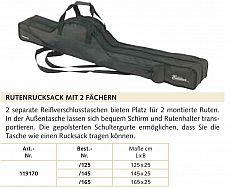 Balzer Rutenfutteral Edition 2-Fach -125