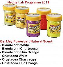 Powerbait Natural Scent Bloodworm Chart.