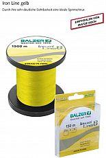 Balzer Schnur Iron Line 8x Gelb ø08-150m