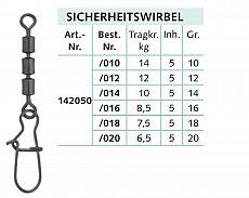 Balzer Sicherheits 3-fach Wirbel -16