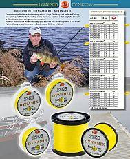 WFT Schnur Dynamix Round gelb 23kg 150m