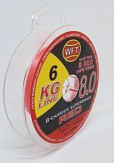 WFT Schnur KG #8.0 #Red #0.12mm