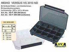 Meiho Köderbox Versus #VS3010 ND black