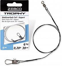 Zebco Stahlvorfach #Trophy #7x7 #30 - 06
