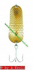 ZEBCO Catfish (Wels) Blinker 85g gold