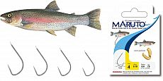 Maruto Haken Forelle Fluo 150cm Größe -4