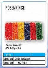 Mosella Posenringe 6-fach Sortiert PVC