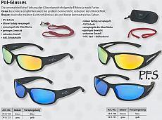 Iron Claw Pol Glasses braun - blau