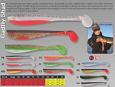 Iron Claw PFS Gadfly Shad 17cm RD -2pcs