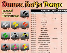 FTM Omura Baits #Pongo #G #Schwarz-Gelb
