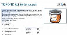 Koi Futter Tripond Premium Seidenraupen5