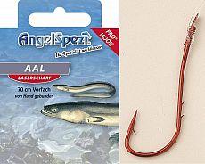AngelSpezi Pro Vorfachhaken Aal rot -2