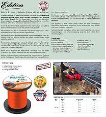 Balzer Schnur Edition SEA Orange ø 31er