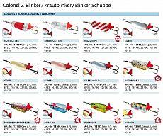 Balzer Colonel Z-BL, Rot-Glitter, 45g