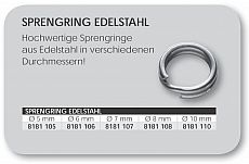DAM Sprengringe Edelstahl 10mm 10pcs