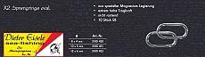 Eisele Sprengringe LUXUS-oval 12mm