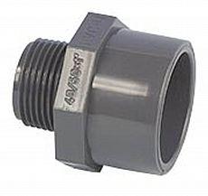 PVC Gewindestück Ø 25/32mm x 1 außen