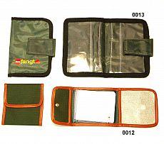 Vorfachtasche Nylongewebe 4 Fächer grün