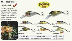 Hybrida Wobbler M1 Floating 4cm BR