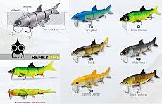 RenkyOne Hybrid Swimbait 7 18cm #Rudd