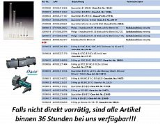 UVC Quarzröhre, Oase Bitron 15-25