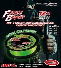 AmberJack Force Braid ø13er - Leuchtgrün
