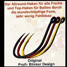 Profi Blinker Wahnsinnshaken -6 schwarz