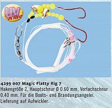 Zebco Magic Flatty Rig -7 Brandung