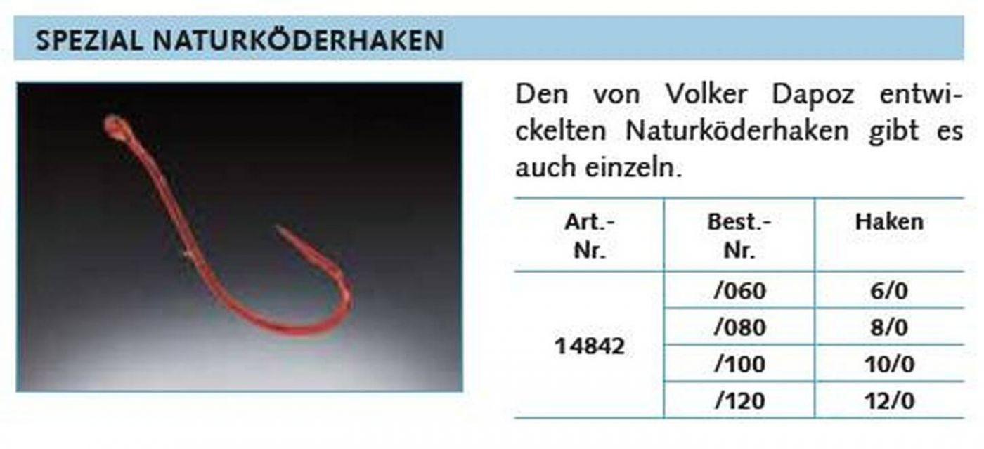 Gr 5 Stück 6//0 Balzer Spezial Naturköderhaken