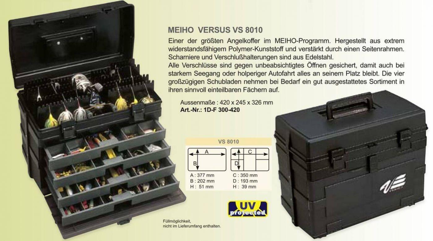 MEIHO VS-8010 Schwarz