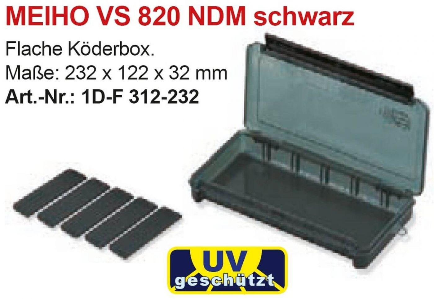 MEIHO VS-3010 NDM schwarz