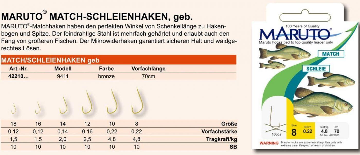 Owner Haken Match Schleie Gr.18