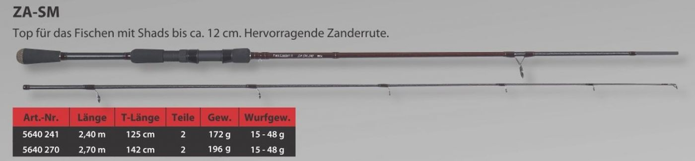 Sänger Rute Bionic Fibre II Hecht U 27 AngelSpezi XXL Soest