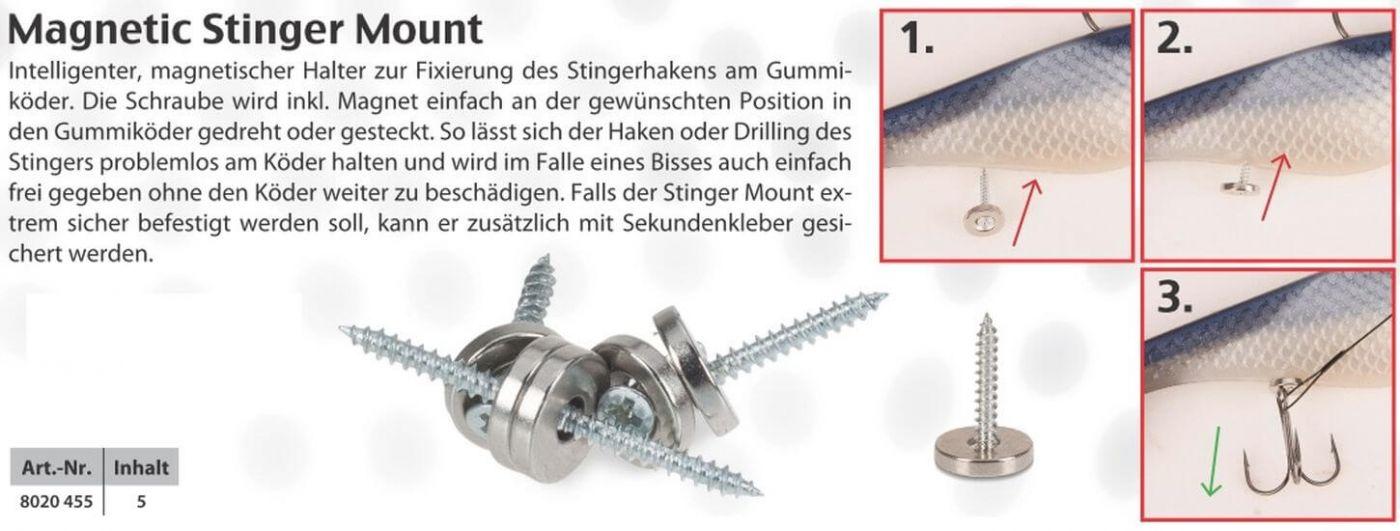 Magnetischer Halter zur Fixierung des Stinger Iron Claw Magnetic Stinger Mount