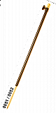 Alu Tele Bankstick #Dorn #055 - 090cm