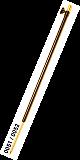 Alu Tele Bankstick #Dorn #075 - 120cm