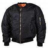 US MA1-Jacke Pilotenjacke schwarz 4-XL