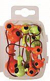 Paladin Twisterköpfe 3-14g rot und gelb