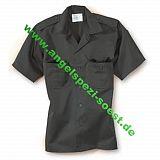 US-Hemd, 1-2 Arm, schwarz, xl