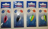 Paladin Trout Spoon V 2.5g sw-bl-si