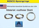 Rosco Sprengringe 9 - 15,1mm - 20pcs