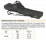 Balzer Rutenfutteral 3-Fächer 145x35cm