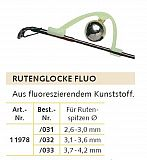 Knicklichthalter mit Glocke ø 2.6-3.0mm