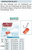 Balzer Method Feeder Rig Pellet 10 -12cm