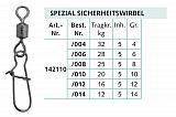 Balzer Spezial Sicherheitswirbel B #-08