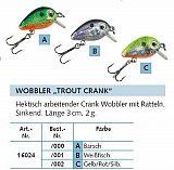 Balzer Trout Crank Wobbler 3cm 2g Col. A