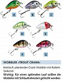 Balzer Trout Crank Wobbler 2cm 1g Col. E