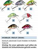 Balzer Trout Crank Wobbler 2cm 1g Col. G